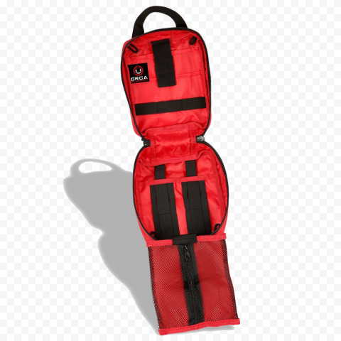 Emergency Medical Backpack First Aid Opened Empty