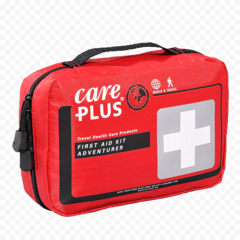 Red Emergency Doctor Handbag First Aid Kit