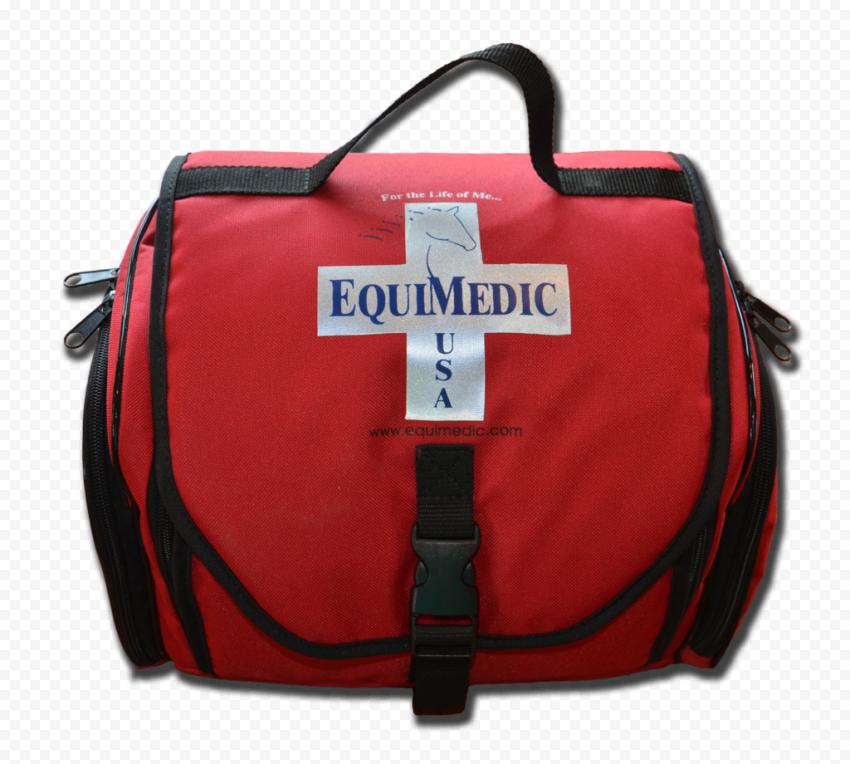 Medical First Aid Kit Red Emergency Handbag