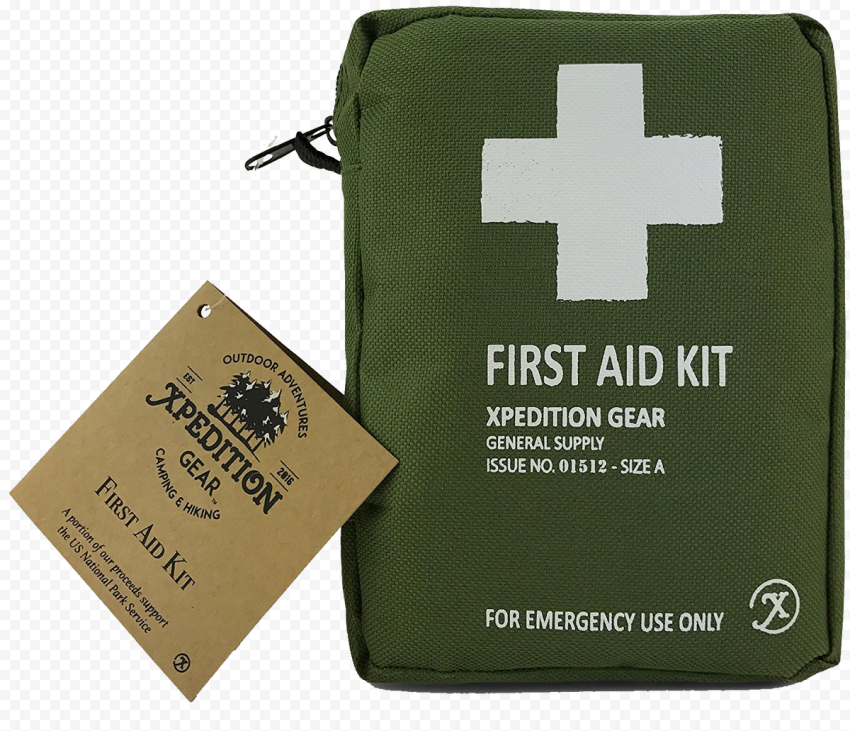 Military Green First Aid Kit Emergency