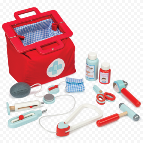 Plastic First Aid Kit Doctor Child Toys Set