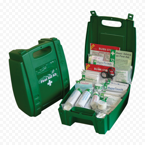 Evolution Emergency Green Opened First Aid Handbag