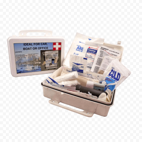 Car And Boat First Aid Kit Box Medicine Supplies