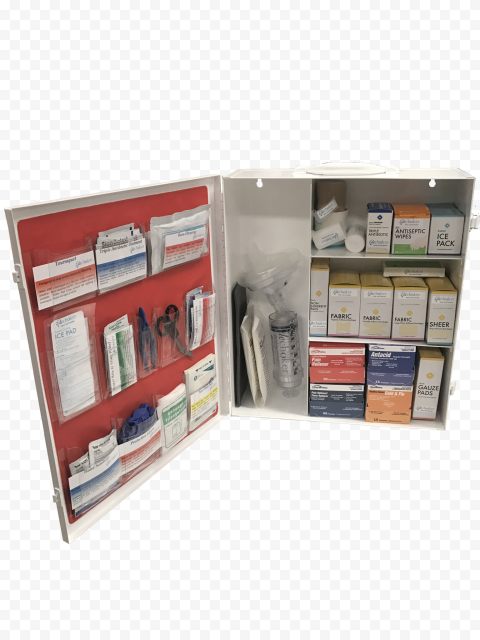 Metal Home First Aid Cabinet Medicine Supplies