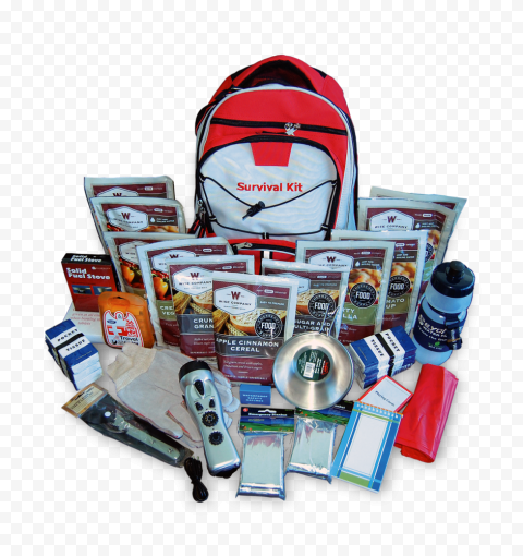 Safety Survival Kit Backpack Emergency Adventure