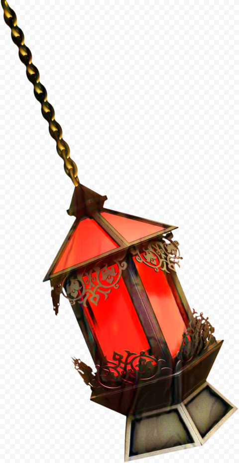 Hanging Ramadan Lantern Illustration فانوس رمضان