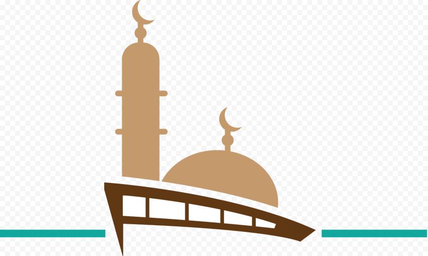 Islamic Masjid Mosque Logo Shape Vector
