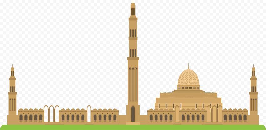 Islamic Mosque Islam Masjid Vector Illustration