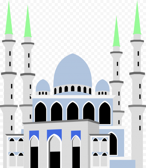 Islamic Mosque Masjid Islam Vector Illustration