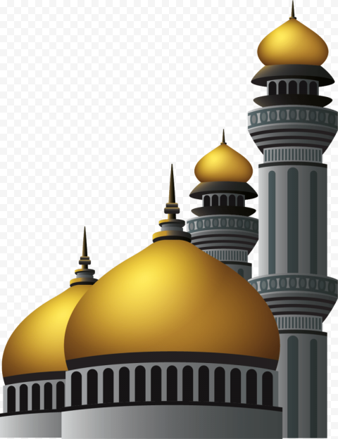 Islamic Mosque Islam Dome Vector Illustration Icon