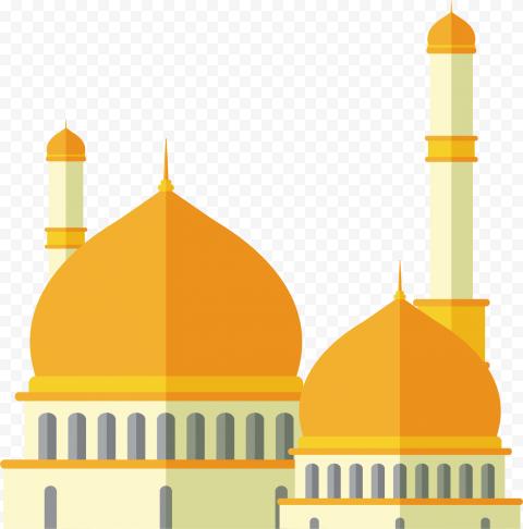 Vector Islam Mosque Dome Illustration Icon Clipart