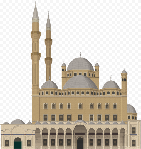 Arabic Vector Illustration Turkish Mosque Icon