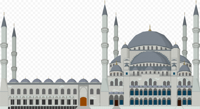Islamic Vector Illustration Turkish Mosque Icon