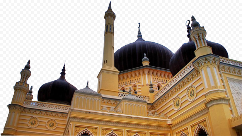 Islam Real Masjid Mosque View