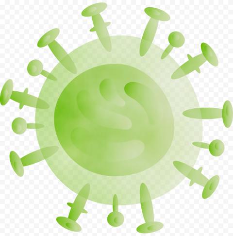 Coronavirus NCov Shape Green Vector Icon Logo