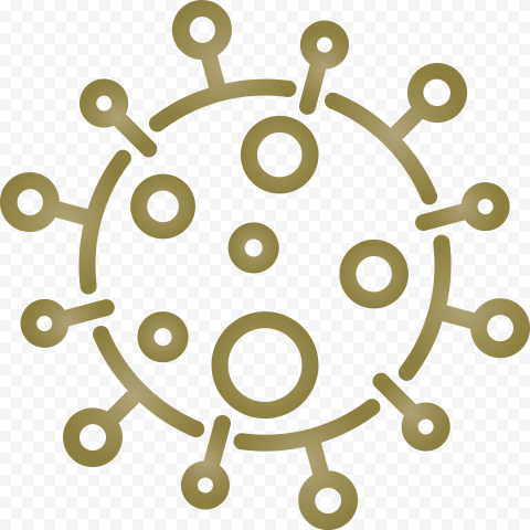 Outline Vector Coronavirus Covid19 Shape Icon
