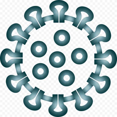 Corona Virus Covid19 Shape Icon Symbol Clipart