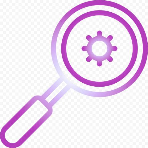 Magnifier Glass Search Virus Covid19 Icon Vector