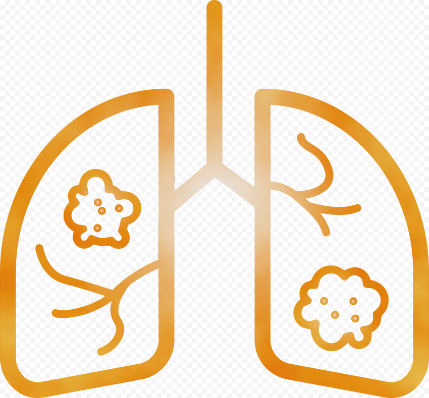 Lungs Coronavirus Vector Icon Covid19