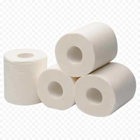 Pack Of Wc Toilet Paper Roll Object No Background
