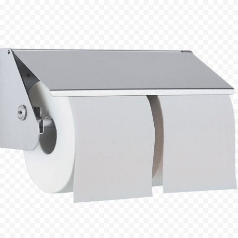 Double Paper Roll Holder Toilet Bathroom Hanging