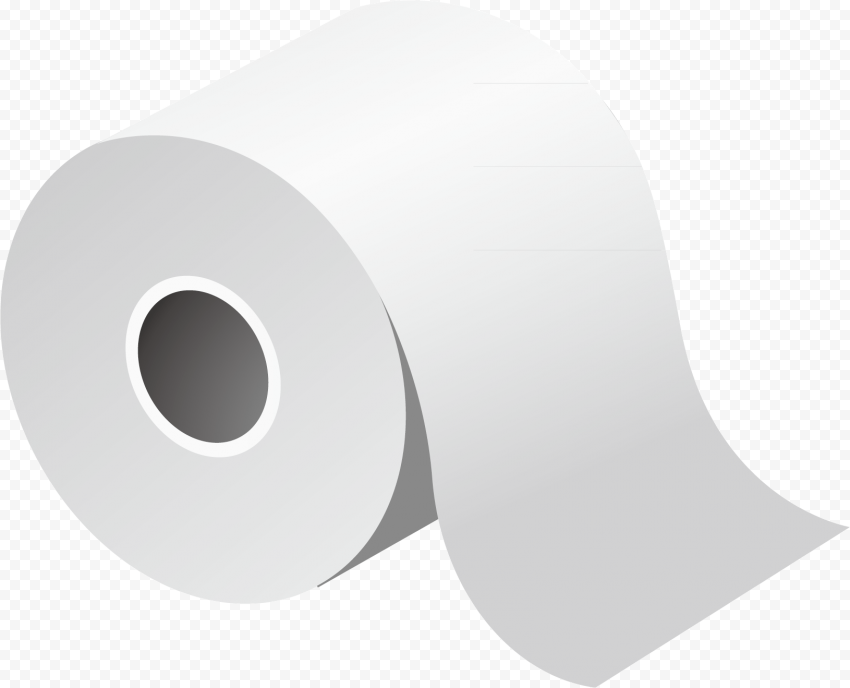 Toilet Wc Bathroom Napkin Paper Roll Illustration