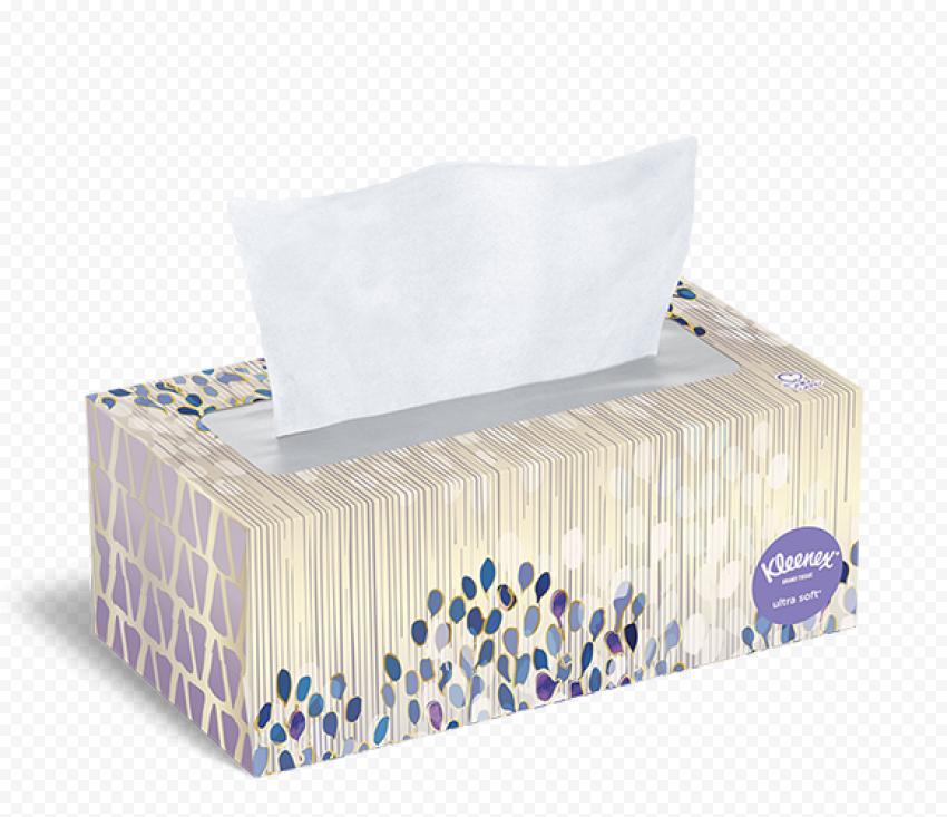 Kleenex Facial Tissues Paper Box Napkins Hygiene