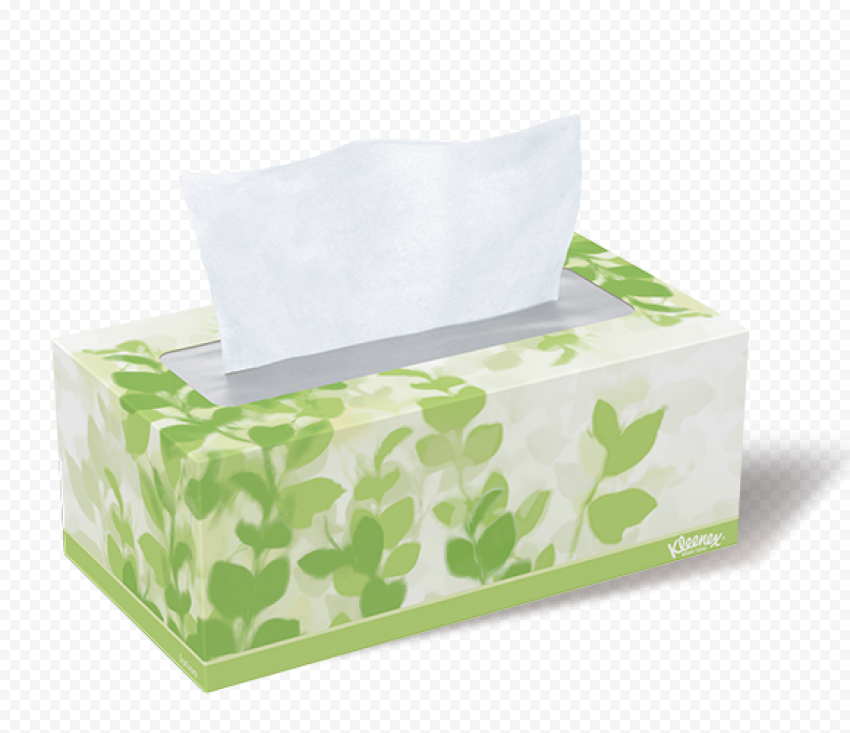 Hygiene Kleenex Facial Tissues Paper Box Napkins