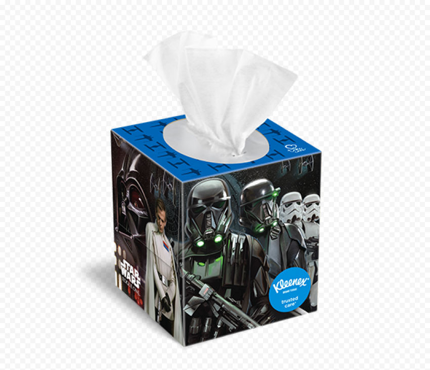 Star Wars Kleenex Facial Tissue Paper Square Box