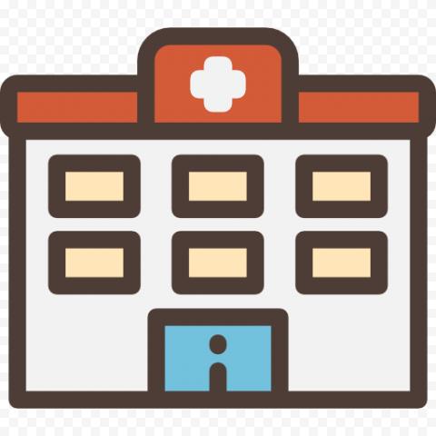 Clinic Hospital Healthcare Pharmacy Icon Vector