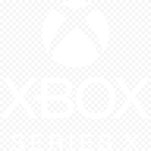 Xbox Series X White Logo Gaming