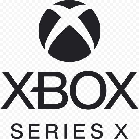 Black Xbox Series X Logo HD Gaming
