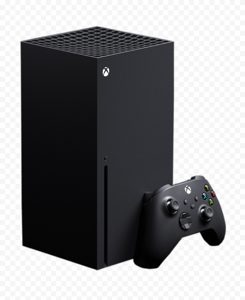 Console Of Xbox Series X With Controller