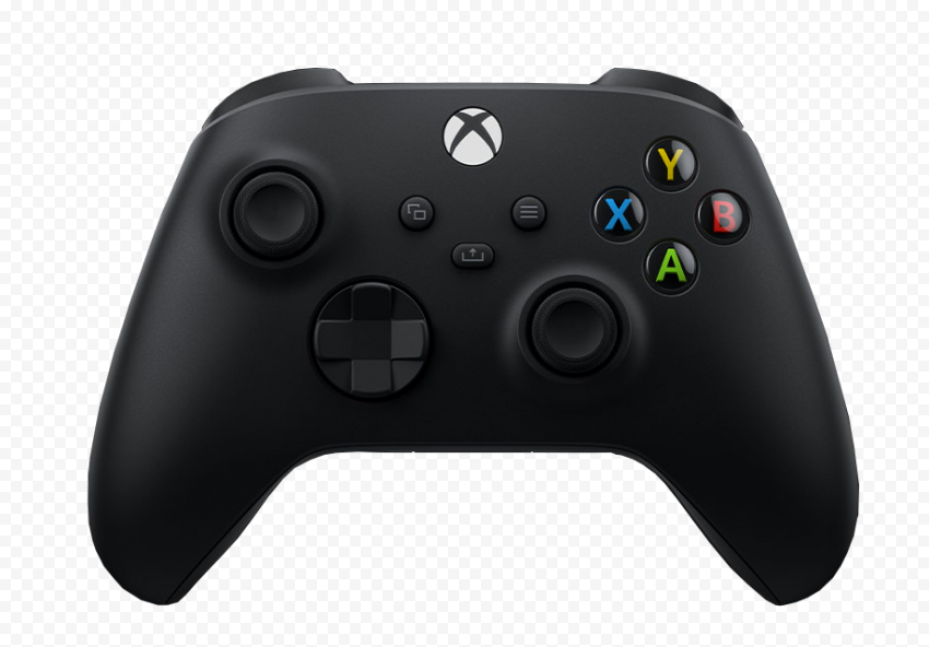 Front View Microsoft Xbox Series X Controller