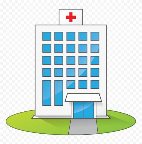 Hospital Clinic Health Care Vector Icon Clipart