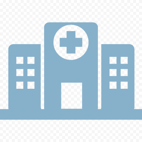 Vector Icon Of Hospital Clinic Health Care