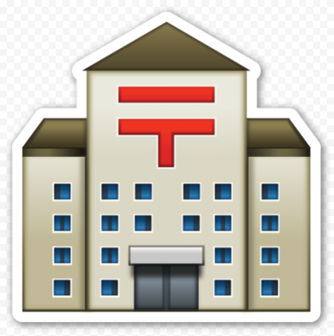 Stickers Of Health Care Center Hospital Icon