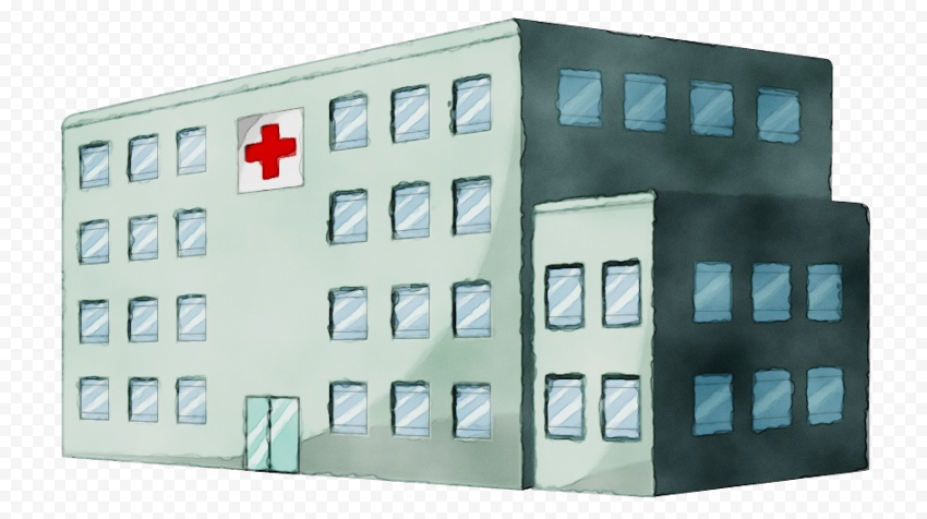 Painting City Clinic Hospital Healthcare Icon