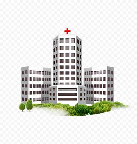 Illustration Icon Of Hospital Clinic Healthcare Icon