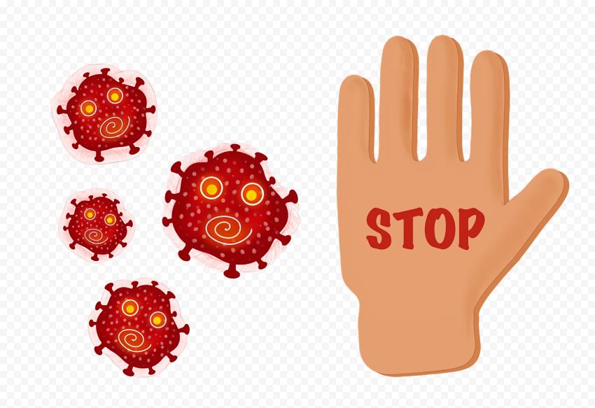 Fight Stop Coronavirus Pandemic Covid19 Illustration