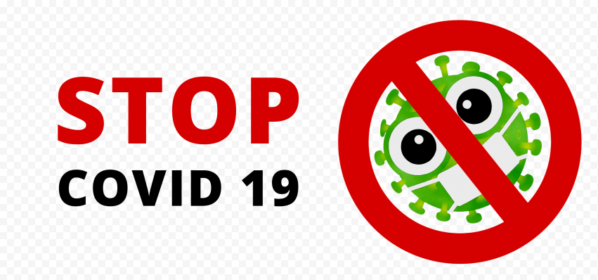 Stop Covid19 Fight Logo Icon Sign Symbol