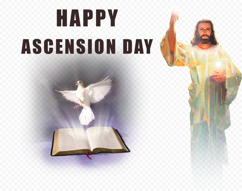 Happy Ascension Day Jesus Bible Christianity