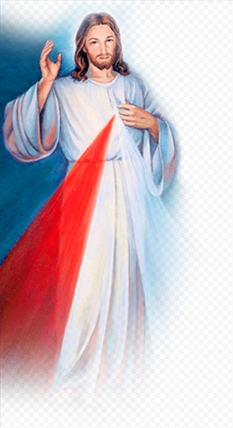Holy Jesus Chaplet Christ Divine Mercy Picture