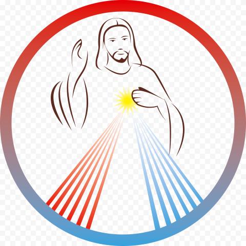 Sacred Holy Jesus Christ Chaplet Divine Mercy Icon