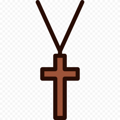 Hanging Clipart Crucifix Cross Necklace Christian