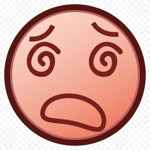 Emoticon Face Dizzy Emoji Dizziness Spinning Eyes