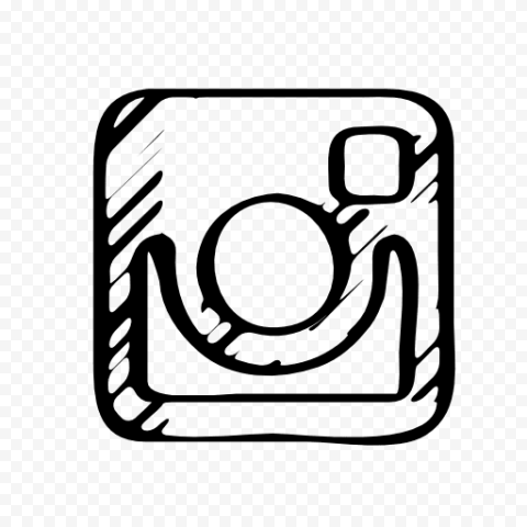 Instagram Drawing Square Logo Icon