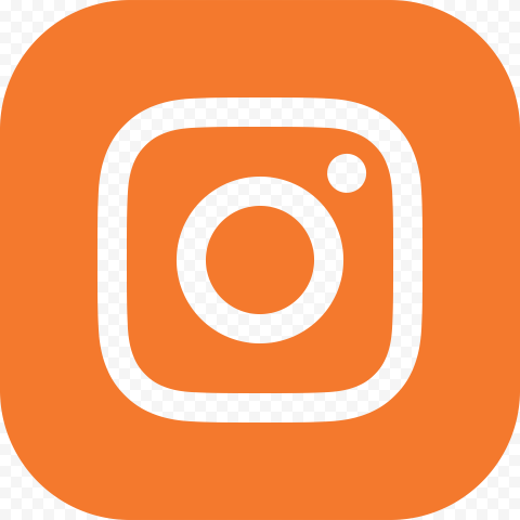 Orange Square Instagram Logo Sign Icon