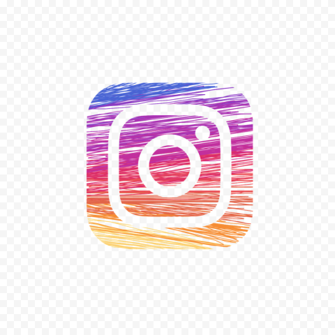 Instagram Logo Icon Clipart Lines Effect