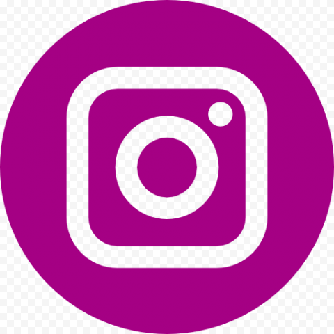 Rond Instagram Logo Circle Purple